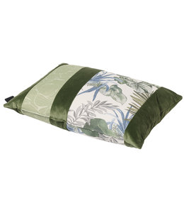 Madison Sierkussen Velvet Match Army Green 60x40cm