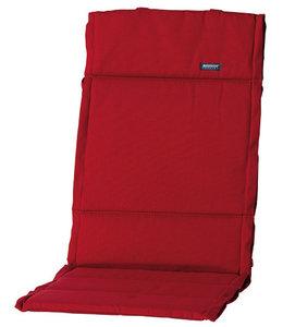 Madison Fiber de luxe kussen 123x50cm (Rib Red)