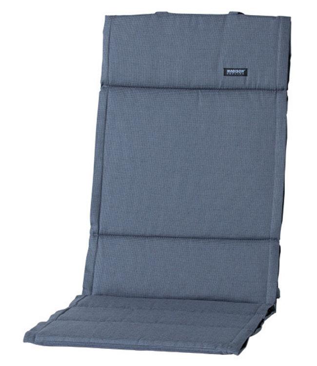 Madison Fiber de luxe kussen 123x50cm (Rib Grey)