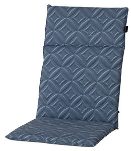 Madison Tuinstoelkussen hoog 50x120cm (Outdoor Blake Blue)