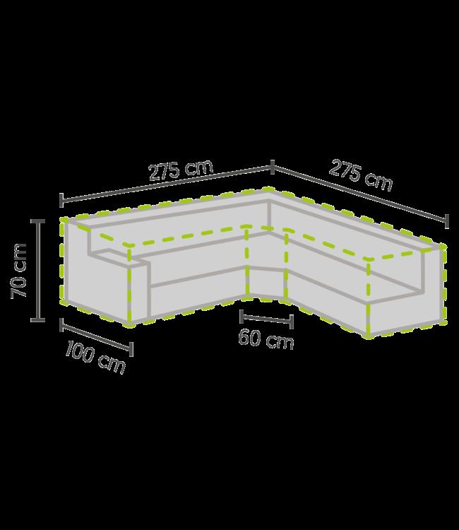 Outdoor Covers Loungeset beschermhoes trapezium 275/100x275/100x70 cm