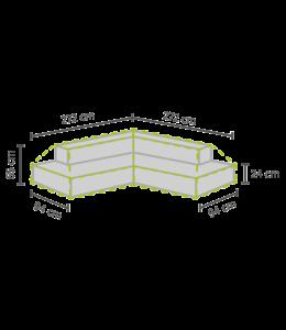 Outdoor Covers Loungeset beschermhoes Plateau 272/232x272/232x93x65 cm