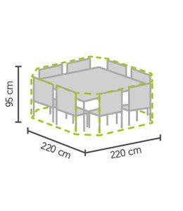 Outdoor Covers Premium Tuinset beschermhoes 8-hoek 220x220x95 cm