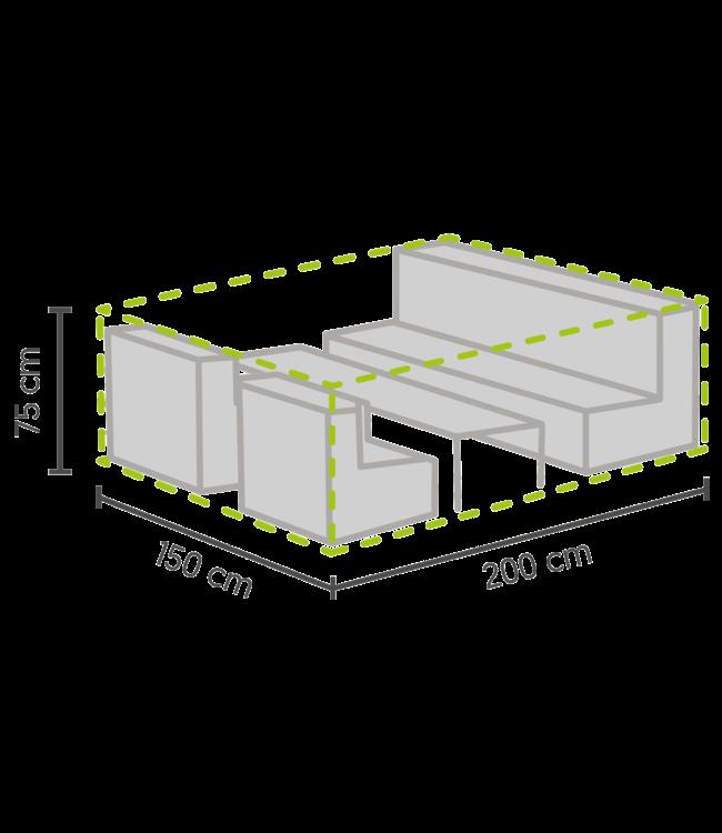 Outdoor Covers Premium Loungeset beschermhoes S 200x150x75cm
