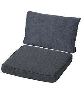 Madison Loungekussen set Luxe 60x60 + 60x40cm (Melange Premium Grey)