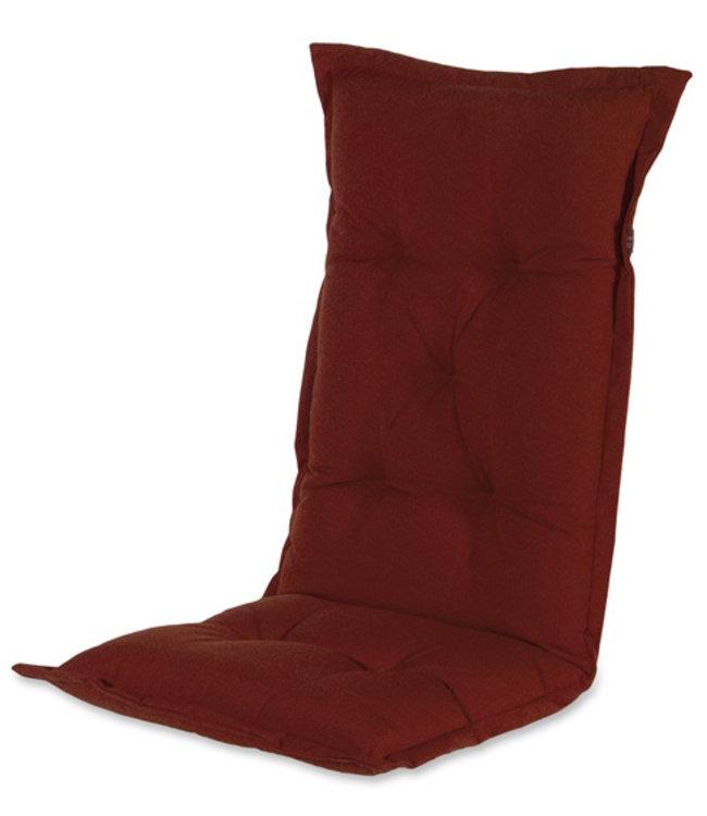 Hartman Tuinstoelkussen hoog 50x123cm (Havana Red)