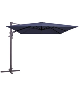 Madison Parasol Monaco flex 300x300cm (Safier Blue)