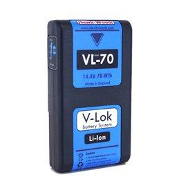 Hawk-Woods Hawk-Woods - VL-70 - 70Wh 14.4v V-Lok Lithium-Ion Battery