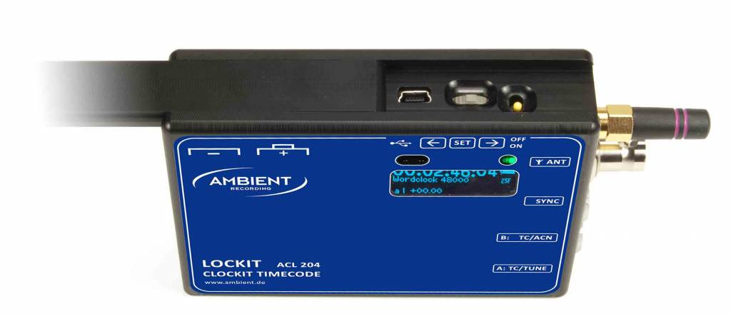 Ambient Ambient - ACL204 - Lockit Sync-Box  – Timecode- und Sync-Generator