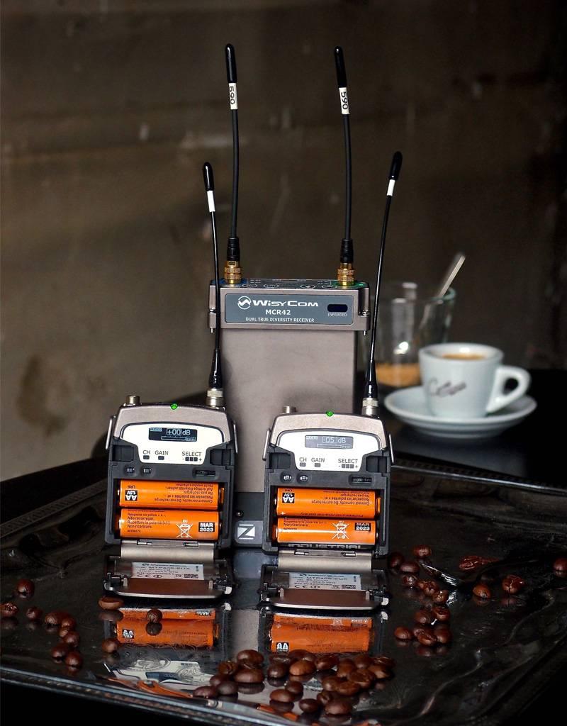 Wisycom Wisycom - Deal - Special Offer - 2-Kanal True-Diversity Funksystem