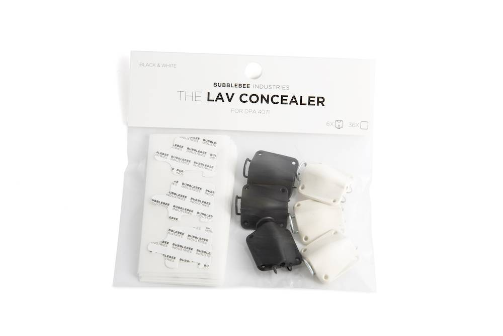 Bubblebee Industries Bubblebee Industries - Multipack - The Lav Concealer für DPA 4071 6-Pack