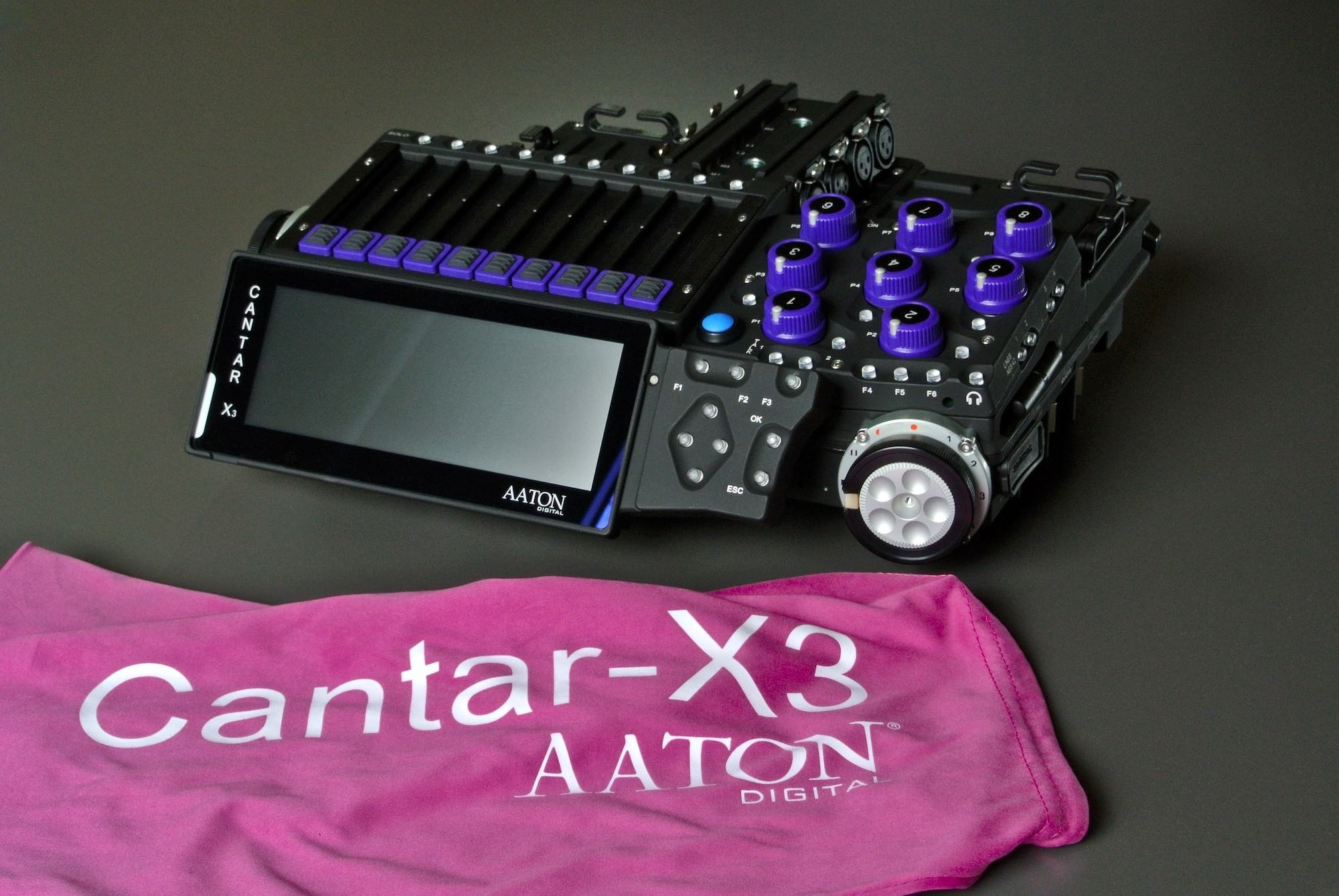 Aaton Digital Aaton Digital - Cantar X3 24-Spur Multitrack Rekorder