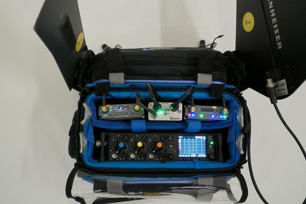 BSRF BSRF - AS-62 aktiver Zweikanal-Antennensplitter für den Einsatz in der Audiotasche
