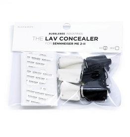 Bubblebee Industries Bubblebee Industries - Multipack - The Lav Concealer für  Sennheiser ME 2-II