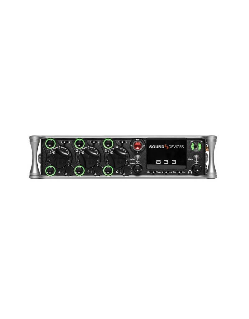 Sound Devices Sound Devices - 833 - 8-Kanal Mischer und Recorder
