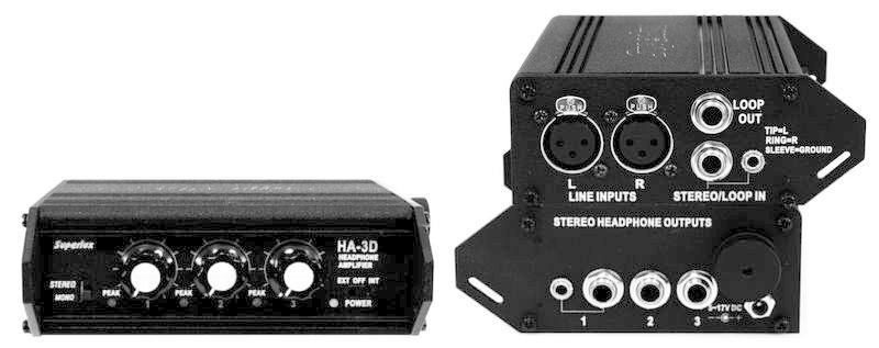 Superlux Superlux HA3D - mobiler Kopfhörerverstärker / DEMOWARE