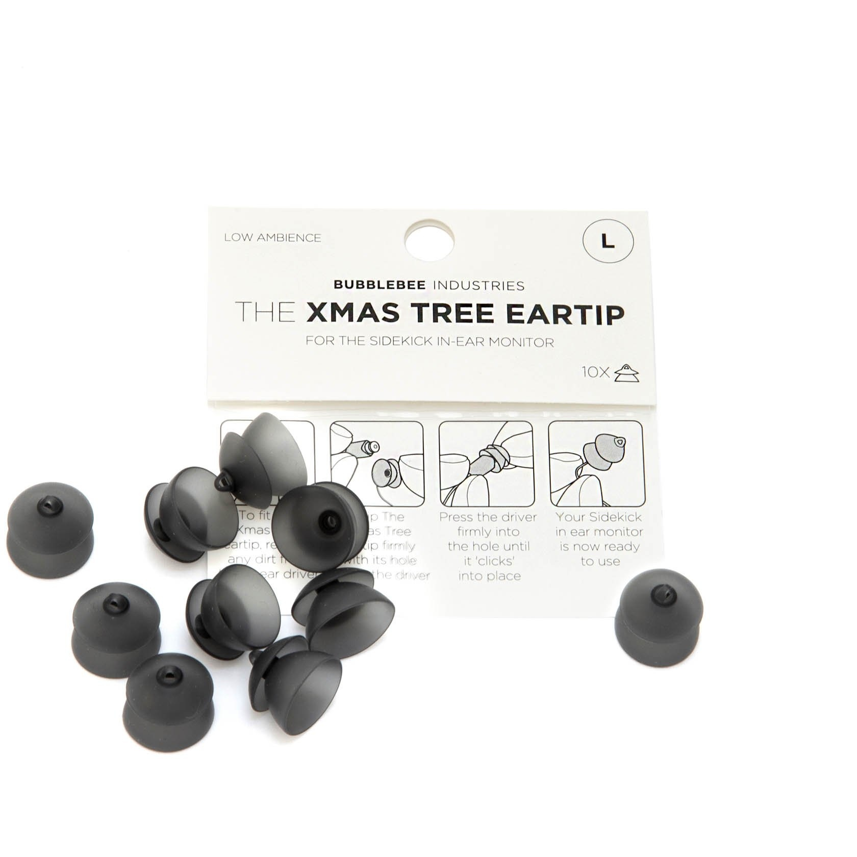 Bubblebee Industries Bubblebee Industries - The Christmas Tree Eartip (10 Stk), Sidekick Zubehör