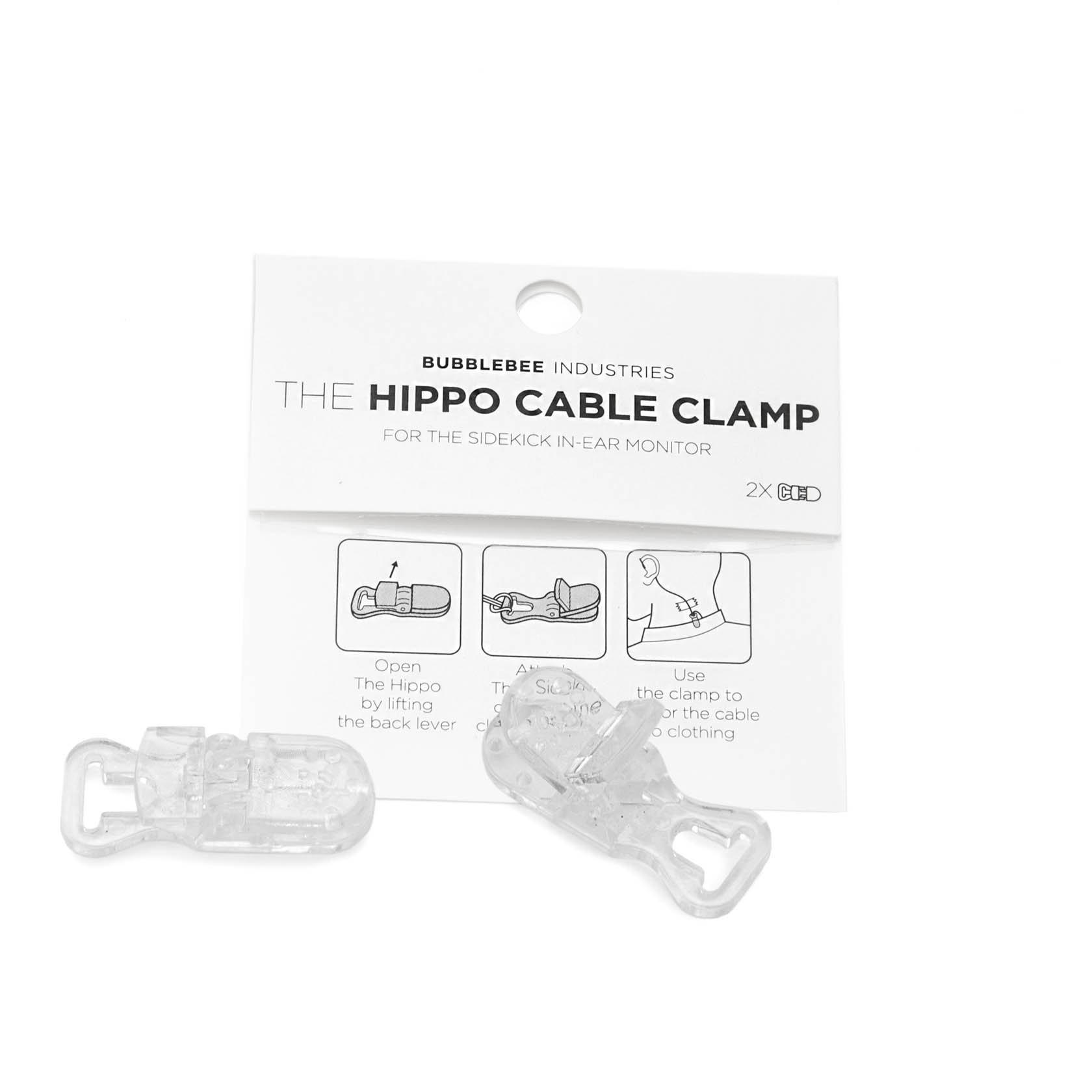 Bubblebee Industries Bubblebee Industries - The Hippo Cable Clamp (2 Stk), Sidekick Zubehör