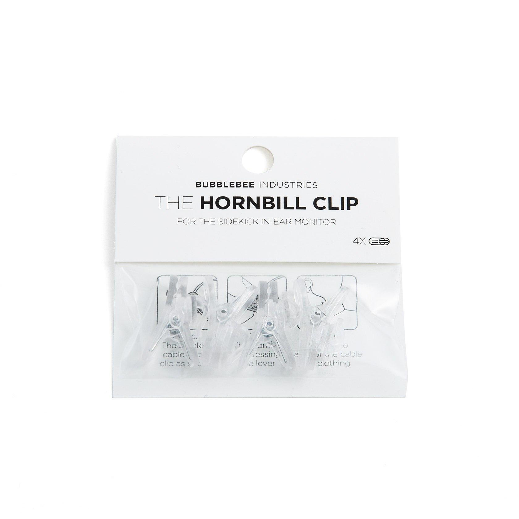 Bubblebee Industries Bubblebee Industries - The Hornbill Clip (4 Stk), Sidekick Zubehör
