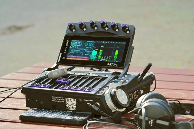 Aaton Digital Aaton Digital - Cantar Mini 16-Spur Multitrack Recorder