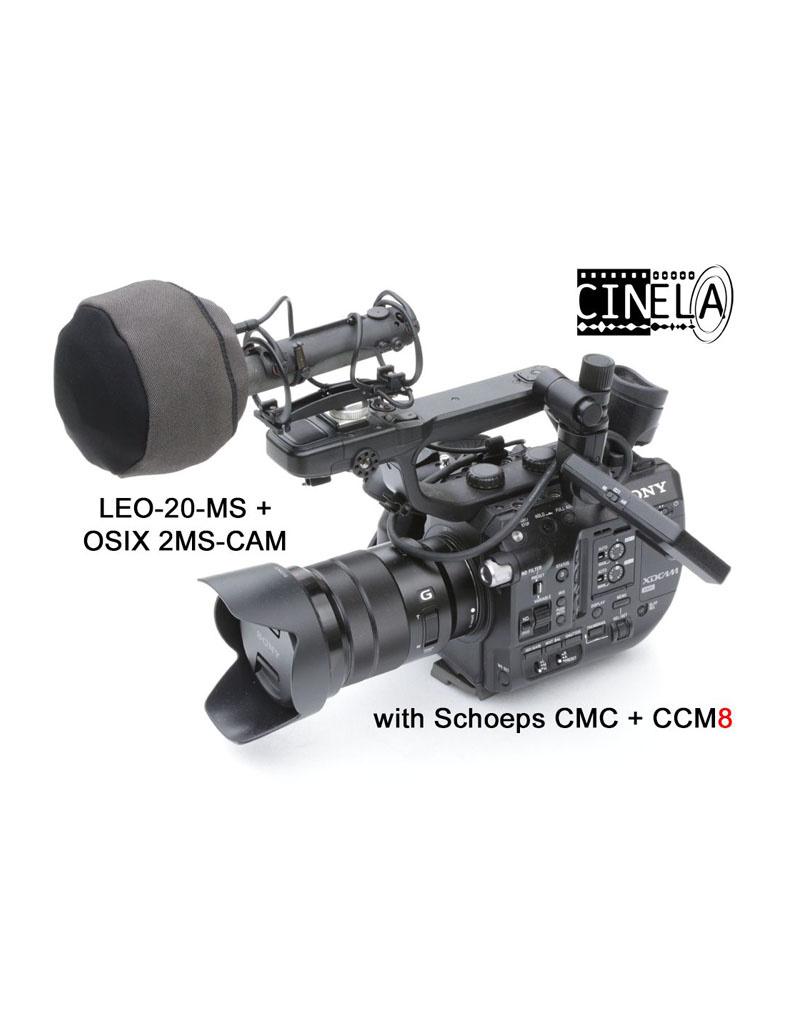 Cinela Cinela - OSIX 2MS-CAM - Stereo-Mikrofonaufhängung