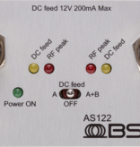 BSRF BSRF - AS-122 aktiver Zweikanal-Antennensplitter für den Einsatz in der Audiotasche