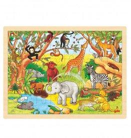 Goki Houten legpuzzel - Jungle