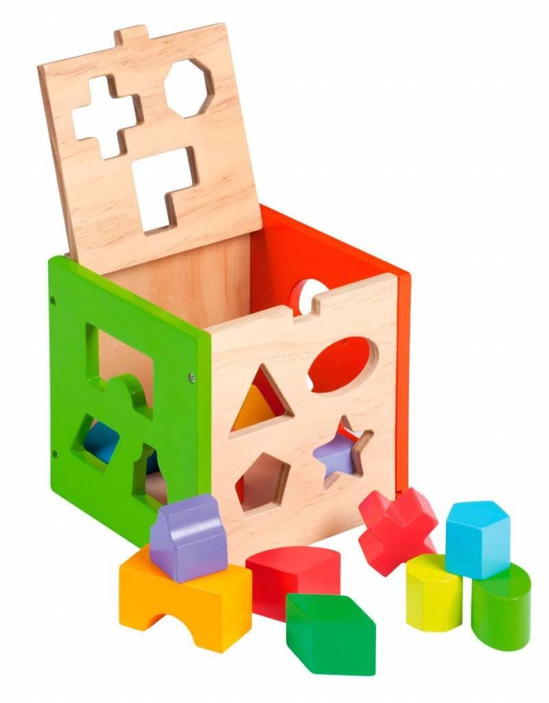 Jouéco Jouéco houten blokkendoos 14 delig