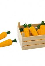 Kidzhout Houten wortels in kist, 10 delig