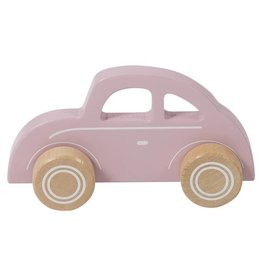 Little Dutch Houten auto pink