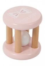 Little Dutch Little Dutch houten rammelaar roller pink