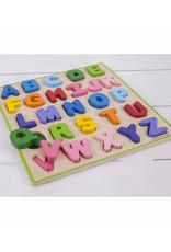 Bigjigs Houten alfabet puzzel