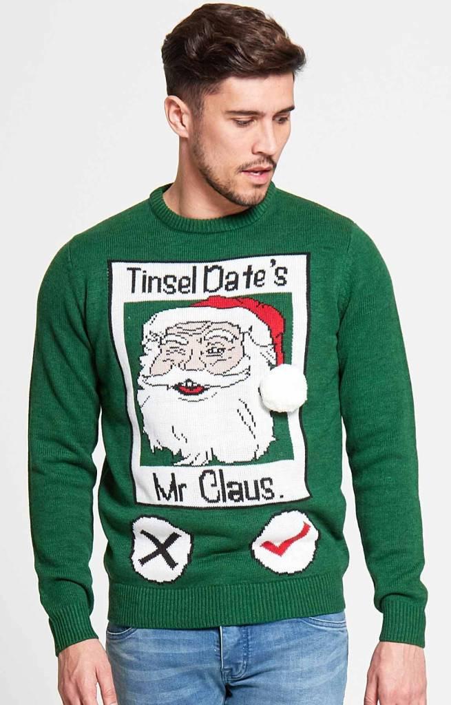 Kersttrui Man Xxl.Kersttrui Tinsel Date 123kersttrui