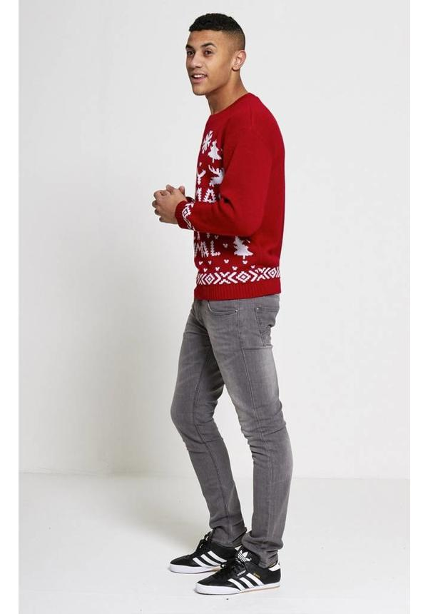Kersttrui Merry Christmas You Filthy Animal - Heren
