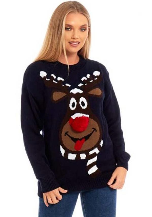 Kersttrui Rudolph Dames