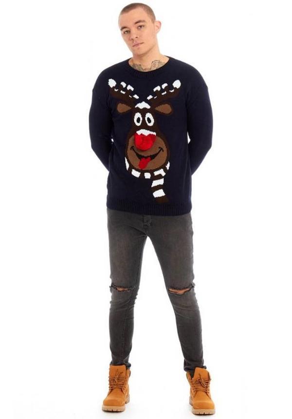 Kersttrui Rudolph Heren