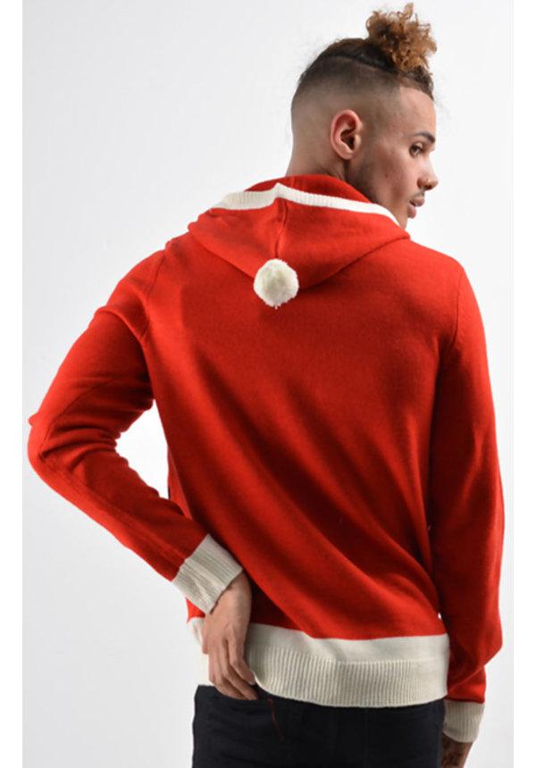 Cyber Monday | Kersttrui heren kerstman jas 3d benen