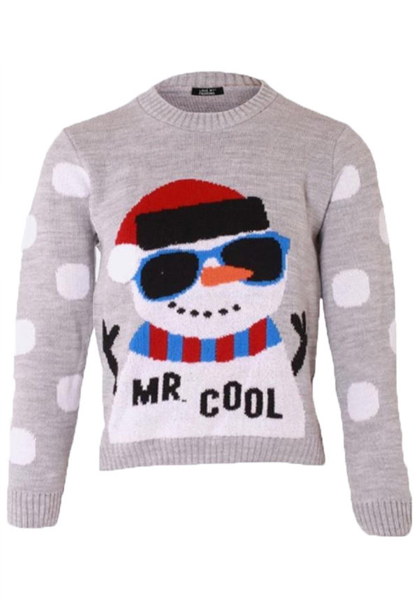 Kersttrui jongens mr. cool