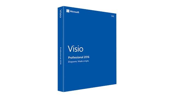 Microsoft Visio Professional 2016 -  Alle Talen