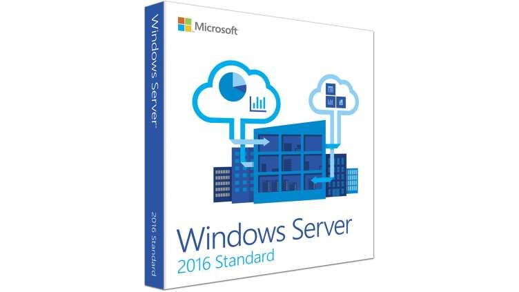 Microsoft Windows Server Standard 2016 - Taal: Engels