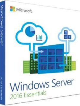 Microsoft Windows server 2016 Essentials - Taal: Engels