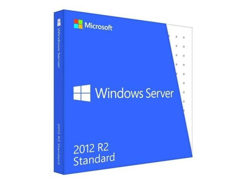 Microsoft Windows Server 2012 R2 Standard - Taal: Engels