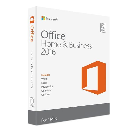 Microsoft Office 2016 Home & Business MAC: Taal:  Alle talen