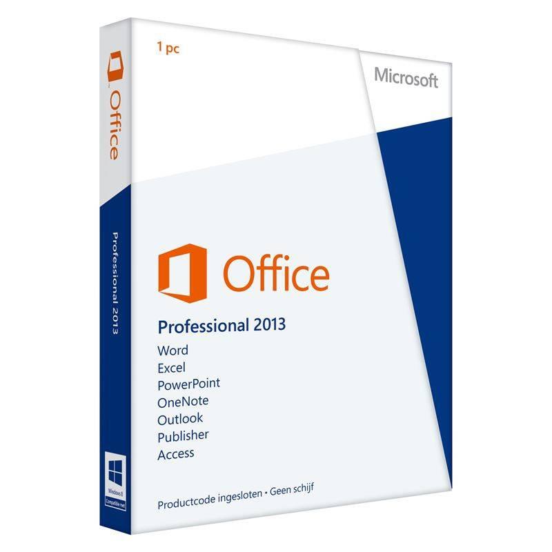 Microsoft Office Professional 2013 - Taal: Alle talen
