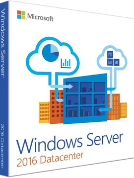 Microsoft Windows Server Datacenter 2016  - Taal: Engels