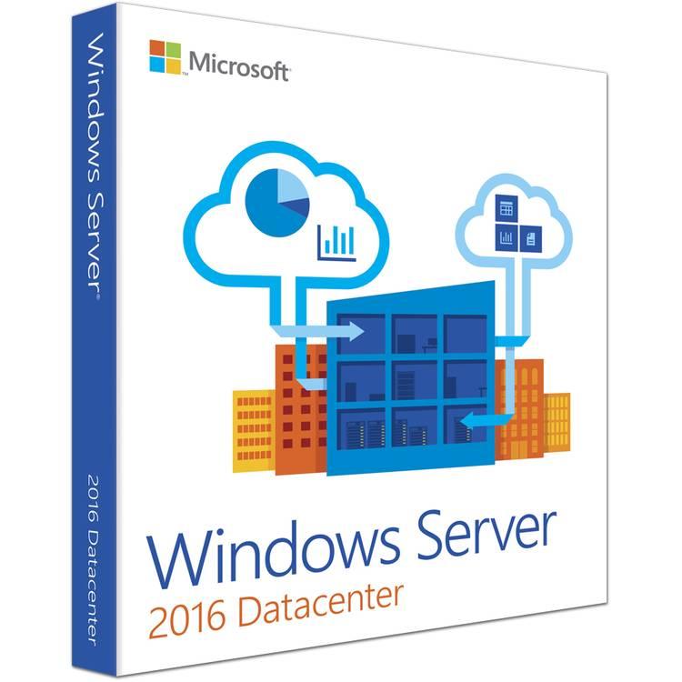 Microsoft Windows Server Datacenter 2016  - Taal: Engels