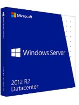 Microsoft Windows Server Datacenter 2012 R2  - Taal: Engels