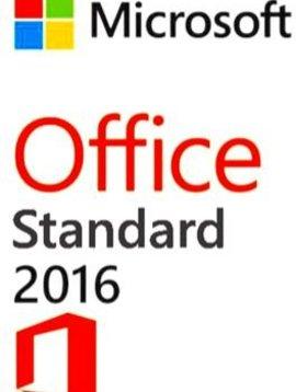 Microsoft Office 2016 Standard - Per 5 gebruikers