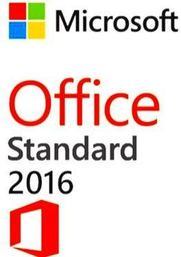Microsoft Office 2016 Standard  - Per 5 gebruikers - Conditie: Used