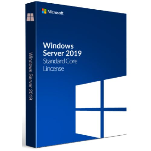 Microsoft Windows Server Standard 2019 - Taal: Engels